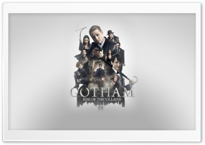 Gotham Season 2 - Poster HD Wide Wallpaper for Widescreen