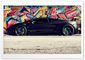 Graffii - Car HD Wide Wallpaper for Widescreen