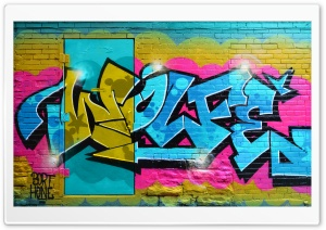 Graffiti Art HD Wide Wallpaper for 4K UHD Widescreen desktop & smartphone