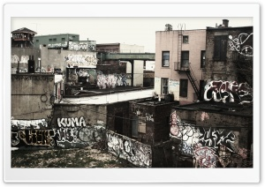 Graffiti Ghetto Ultra HD Wallpaper for 4K UHD Widescreen desktop, tablet & smartphone