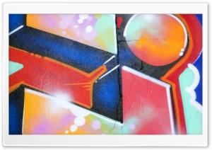 Graffiti Red HD Wide Wallpaper for 4K UHD Widescreen desktop & smartphone