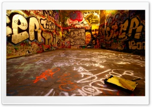Graffiti Room HD Wide Wallpaper for Widescreen