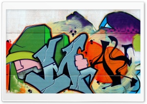 Graffiti Spain HD Wide Wallpaper for Widescreen
