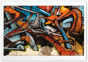 Graffiti Typography HD Wide Wallpaper for Widescreen