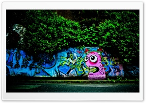 Graffiti Wall HD Wide Wallpaper for Widescreen