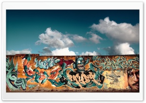 Graffiti Wall Art HD Wide Wallpaper for Widescreen