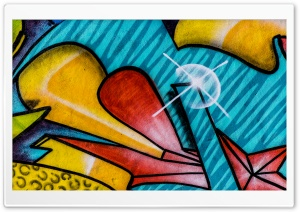 Graffitti Ultra HD Wallpaper for 4K UHD Widescreen desktop, tablet & smartphone