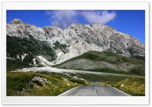 Gran Sasso D'italia HD Wide Wallpaper for Widescreen