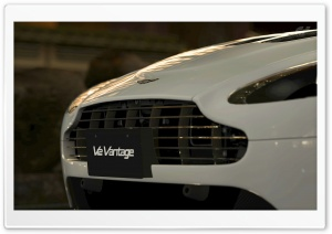 Gran Turismo 5 Aston Martin V12 Vantage HD Wide Wallpaper for Widescreen