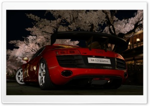 Gran Turismo 5 Audi R8 5 2 Quattro HD Wide Wallpaper for Widescreen