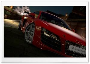 Gran Turismo 5 Audi R8 5 2 Quattro Red HD Wide Wallpaper for 4K UHD Widescreen desktop & smartphone