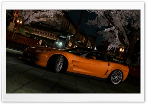 Gran Turismo 5 Chevrolet Corvette ZR1 HD Wide Wallpaper for Widescreen