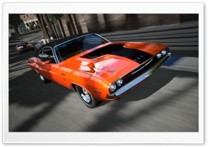 Gran Turismo 5 Dodge Charger HD Wide Wallpaper for Widescreen