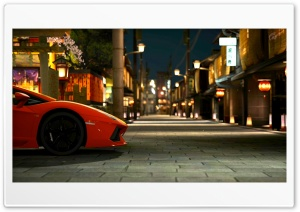 Gran Turismo 5 Lamborghini Aventador HD Wide Wallpaper for Widescreen