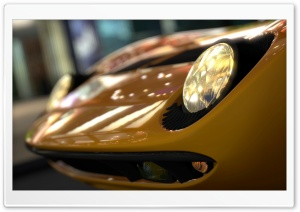Gran Turismo 5 Lamborghini Miura HD Wide Wallpaper for Widescreen