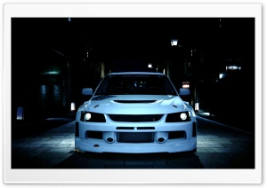 Gran Turismo 5 Mitsubishi Evolution Ultra HD Wallpaper for 4K UHD Widescreen desktop, tablet & smartphone