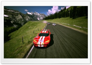 Gran Turismo 6 Dogde Viper Race Car HD Wide Wallpaper for Widescreen