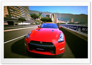 Gran Turismo 6 Nissan GTR HD Wide Wallpaper for Widescreen