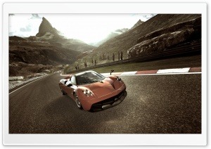 Gran Turismo 6 Pagani HD Wide Wallpaper for Widescreen
