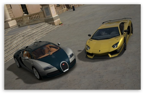Gran Turismo Lamborghini and Bugatti ❤ 4K UHD Wallpaper for Wide 16:10 Widescreen WHXGA WQXGA WUXGA WXGA ; 4K UHD 16:9 Ultra High Definition 2160p 1440p 1080p 900p 720p ; Standard 3:2 Fullscreen DVGA HVGA HQVGA ( Apple PowerBook G4 iPhone 4 3G 3GS iPod Touch ) ; Tablet 1:1 ; iPad 1/2/Mini ; Mobile 4:3 5:3 3:2 16:9 - UXGA XGA SVGA WGA DVGA HVGA HQVGA ( Apple PowerBook G4 iPhone 4 3G 3GS iPod Touch ) 2160p 1440p 1080p 900p 720p ;