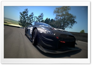 Gran Turismo Nissan Race Car HD Wide Wallpaper for Widescreen