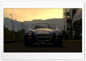 Gran Turismo Shelby Cobra HD Wide Wallpaper for Widescreen
