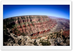 Grand Canyon HDR HD Wide Wallpaper for Widescreen