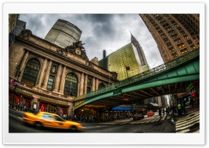 Grand Central Terminal Exterior HD Wide Wallpaper for 4K UHD Widescreen desktop & smartphone