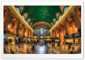 Grand Central Terminal, New York City, NY HD Wide Wallpaper for 4K UHD Widescreen desktop & smartphone