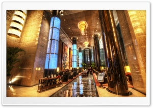 Grand Millenium Hotel In Beijing HD Wide Wallpaper for Widescreen