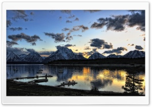 Grand Teton National Park Beautiful Landscape HD Wide Wallpaper for Widescreen