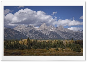 Grand Teton National Park Landscape HD Wide Wallpaper for Widescreen