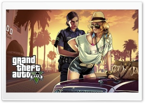 Grand Theft Auto GTA V 2013 HD Wide Wallpaper for Widescreen
