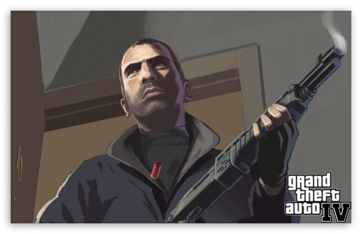 Grand Theft Auto IV HD wallpaper for Wide 16:10 5:3 Widescreen WHXGA WQXGA WUXGA WXGA WGA ; HD 16:9 High Definition WQHD QWXGA 1080p 900p 720p QHD nHD ; Mobile 5:3 16:9 - WGA WQHD QWXGA 1080p 900p 720p QHD nHD ;