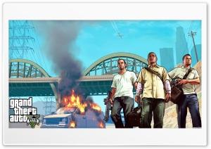 Grand Theft Auto V HD Wide Wallpaper for 4K UHD Widescreen desktop & smartphone