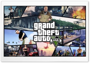 Grand Theft Auto V 2012 HD Wide Wallpaper for Widescreen