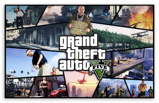 Grand Theft Auto V 2012 HD wallpaper for Wide 16:10 5:3 Widescreen WHXGA WQXGA WUXGA WXGA WGA ; Mobile 5:3 - WGA ;