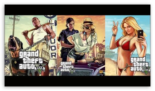 Grand Theft Auto V artwork HD wallpaper for HD 16:9 High Definition WQHD QWXGA 1080p 900p 720p QHD nHD ; Mobile 16:9 - WQHD QWXGA 1080p 900p 720p QHD nHD ; Dual 5:4 QSXGA SXGA ;