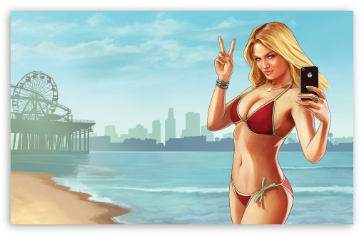 Grand Theft Auto V Beach Weather HD wallpaper for Wide 16:10 5:3 Widescreen WHXGA WQXGA WUXGA WXGA WGA ; UltraWide 21:9 24:10 ; HD 16:9 High Definition WQHD QWXGA 1080p 900p 720p QHD nHD ; UHD 16:9 WQHD QWXGA 1080p 900p 720p QHD nHD ; Standard 4:3 5:4 3:2 Fullscreen UXGA XGA SVGA QSXGA SXGA DVGA HVGA HQVGA devices ( Apple PowerBook G4 iPhone 4 3G 3GS iPod Touch ) ; Smartphone 16:9 3:2 5:3 WQHD QWXGA 1080p 900p 720p QHD nHD DVGA HVGA HQVGA devices ( Apple PowerBook G4 iPhone 4 3G 3GS iPod Touch ) WGA ; Tablet 1:1 ; iPad 1/2/Mini ; Mobile 4:3 5:3 3:2 16:9 5:4 - UXGA XGA SVGA WGA DVGA HVGA HQVGA devices ( Apple PowerBook G4 iPhone 4 3G 3GS iPod Touch ) WQHD QWXGA 1080p 900p 720p QHD nHD QSXGA SXGA ; Dual 16:10 5:3 16:9 4:3 5:4 3:2 WHXGA WQXGA WUXGA WXGA WGA WQHD QWXGA 1080p 900p 720p QHD nHD UXGA XGA SVGA QSXGA SXGA DVGA HVGA HQVGA devices ( Apple PowerBook G4 iPhone 4 3G 3GS iPod Touch ) ; Triple 5:4 QSXGA SXGA ;