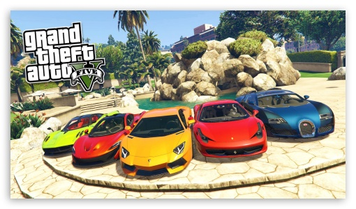 Grand Theft Auto V Cars Ultra Hd Desktop Background