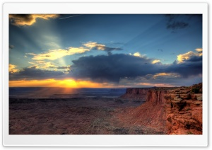 Grandview Point, Canyonlands HD Wide Wallpaper for Widescreen