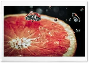 Grapefruit HD Wide Wallpaper for Widescreen