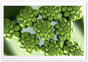 Graphics Green Strain 3D HD Wide Wallpaper for Widescreen