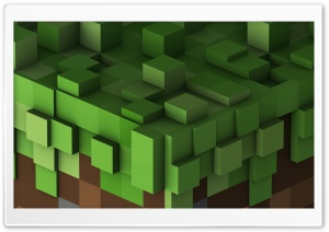 Grass Block HD Wide Wallpaper for Widescreen