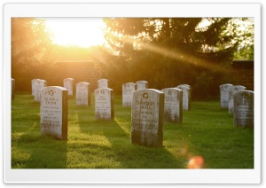 Gravestones HD Wide Wallpaper for Widescreen