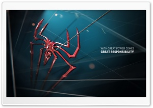 Great Power Great Responsibility HD Wide Wallpaper for Widescreen