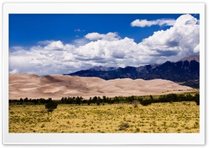 Great Sand Dunes National Park HD Wide Wallpaper for Widescreen