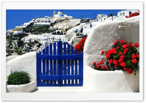 Greece HD Wide Wallpaper for Widescreen