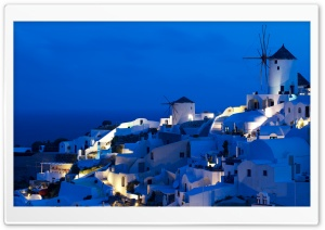 Greece, Santorini HD Wide Wallpaper for Widescreen