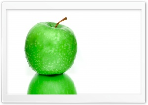 Green Apple Fresh HD Wide Wallpaper for Widescreen